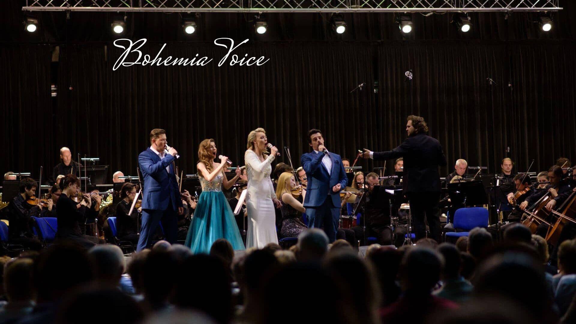 koncertní programy Bohemia Voice