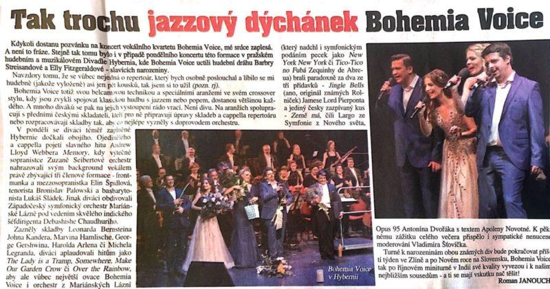 Bohemia Voice - Haló noviny